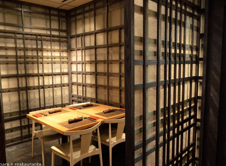 Shoji Screen in a Restaurant