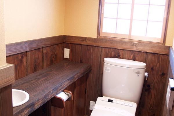 Shoji Screen in Washroom