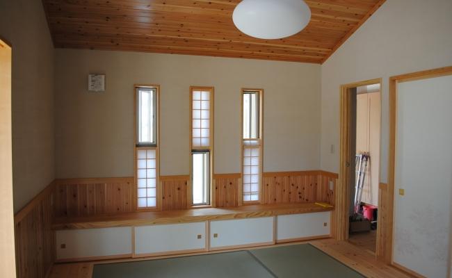 Shoji Window 上げ下げ窓