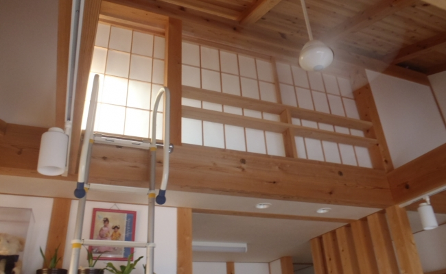 Loft Privacy Shoji Screen