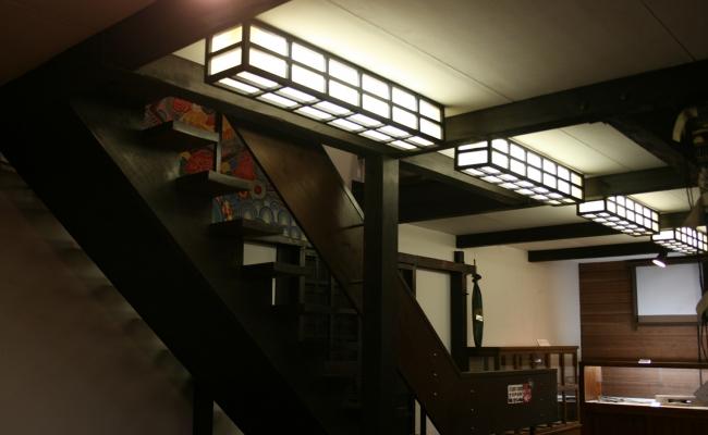 Shoji Style Light Cover