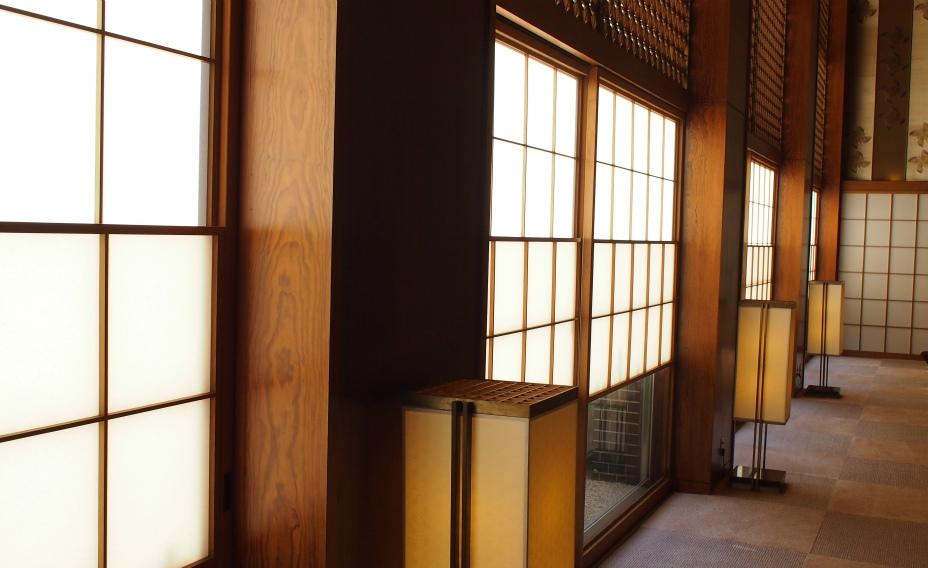 Shoji Screens in Hallway