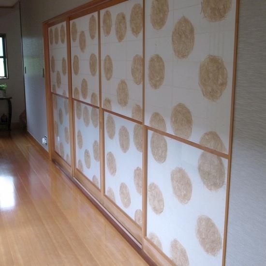 Patterned Shoji Paper