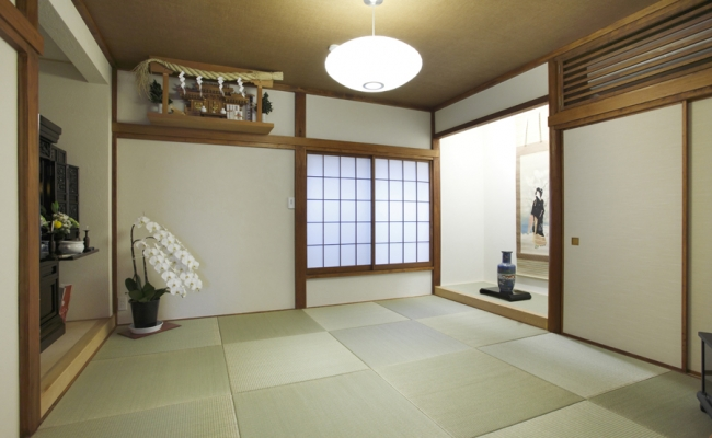 Half Sized Tatami Room