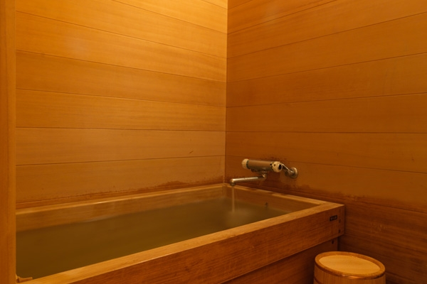 Traditional Hinoki Bathroom