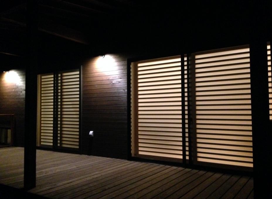 Shoji Screen from Outside