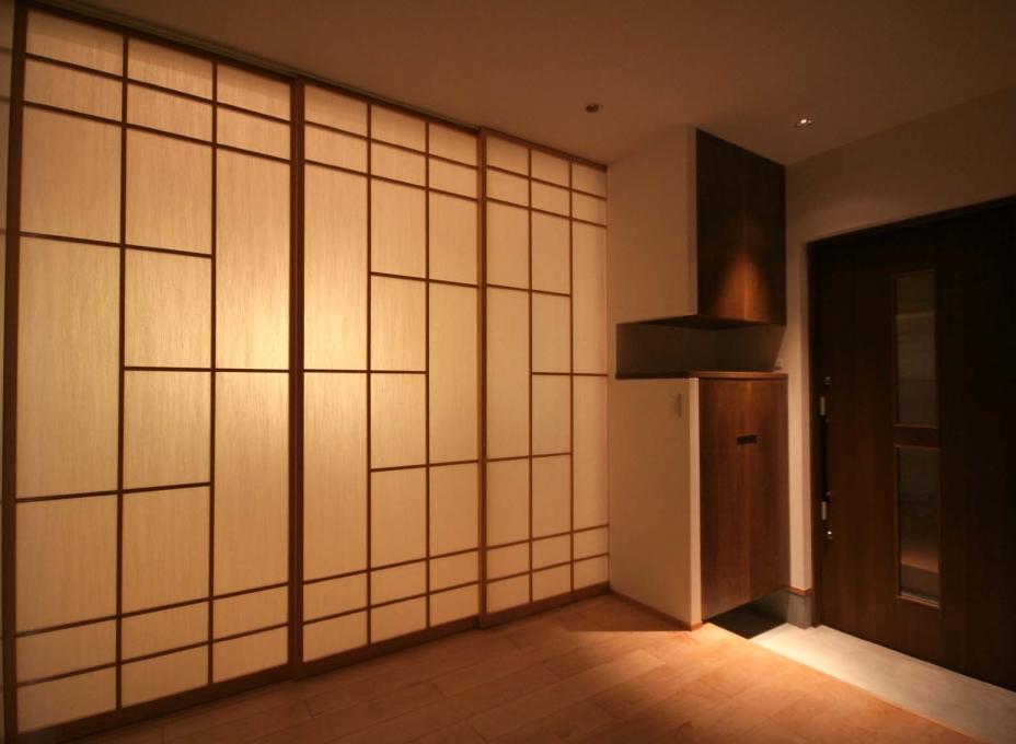 Non Conventional Shoji Frame