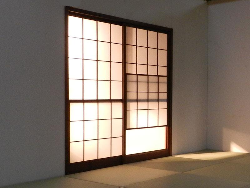 Yukimi Style Shoji Screen