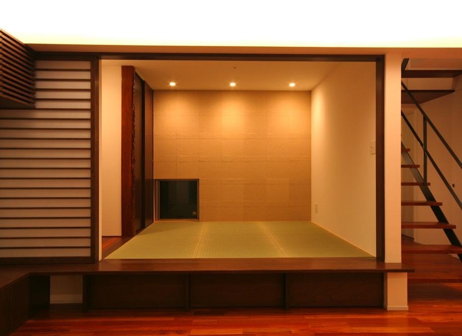 Elevated Tatami Room